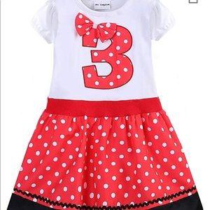 Other - Baby girl birthday dress 3T